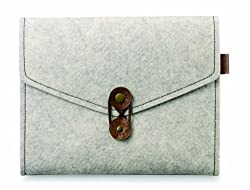 Cooler Master Wool Felt Cormo Leather Sleeve for iPad 2/3 (Khaki)