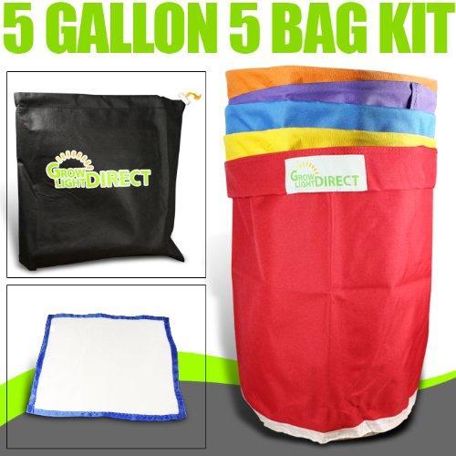 Awardpedia - Bubble Hash Bags Ice Extractor 5 Gallon 5 Bag ...