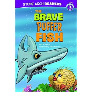 The brave puffer fish cari m meister books for Amazon puffer fish
