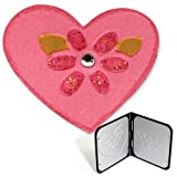 Sizzix 654889 Embosslits Die - Heart with Flower by me and my BIG ideas