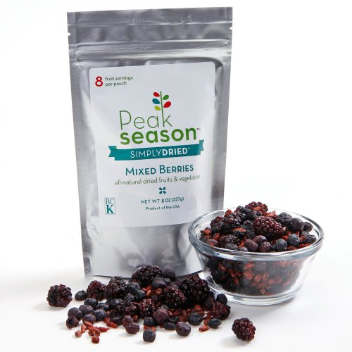 Dried Mixed Berries Chewy 8Oz