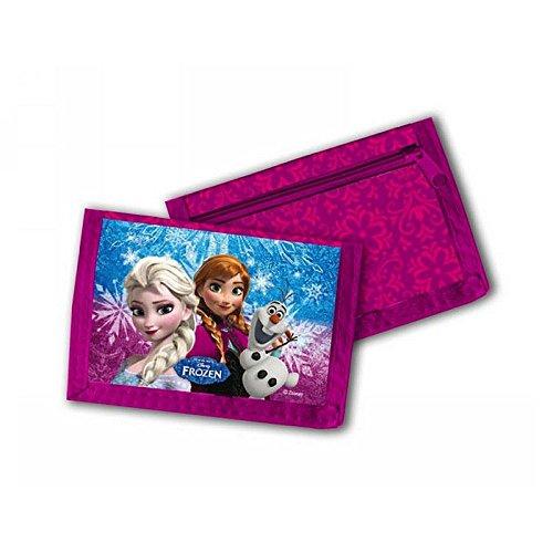 Disney Frozen Il Regno Di Ghiaccio-Bambini portafoglio rosa