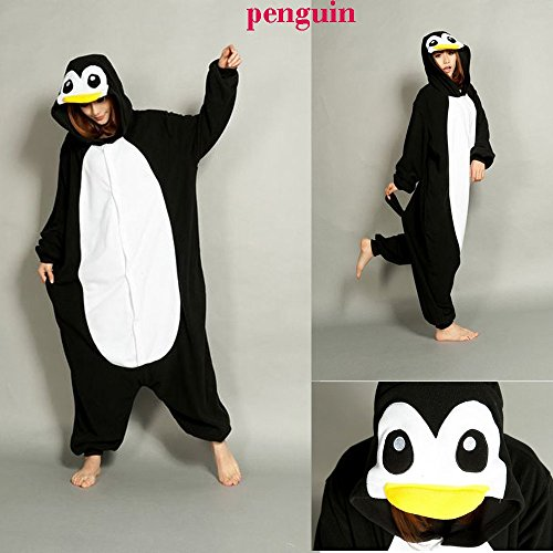 Ninimour- Pajamas Cosplay Halloween Costume-Penguin