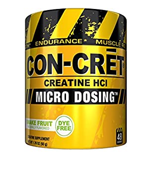 CON_CRET Creatine HCL, Snake Fruit, 48 Servings