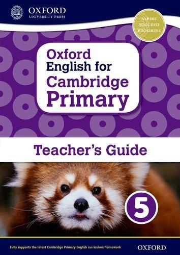 Oxford English for Cambridge Primary Teacher book 5