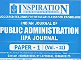 Indian Journal of Public Administration IIPA Journal Paper-1 (Vol.-II)