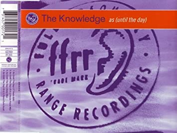 KNOWLEDGE, THE - As (Until The Day) - CD single