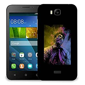 Snoogg Zombiee Designer Protective Back Case Cover For HUAWEI HONOR 7