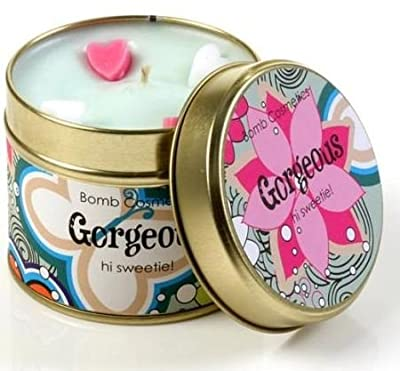 Gorgeous Scented Candle Tin