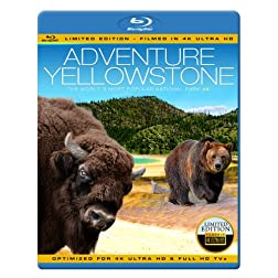 ADVENTURE YELLOWSTONE - The World's Most Popular National Park [Blu-ray]