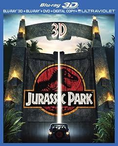 Jurassic Park (3D Blu-ray + Blu-ray + DVD + Digital Copy + UltraViolet) by Universal Studios