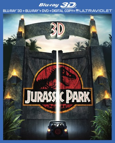 Jurassic Park (3D Blu-ray + Blu-ray + DVD + Digital Copy + UltraViolet) (1993)