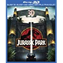 Jurassic Park (Blu-ray 3D + Blu-ray + DVD + Digital Copy + UltraViolet)