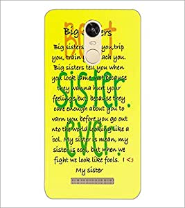 PrintDhaba Quote D-3923 Back Case Cover for XIAOMI REDMI NOTE 3 (Multi-Coloured)