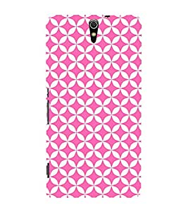 Triangle Art Pattern 3D Hard Polycarbonate Designer Back Case Cover for Sony Xperia C5 Ultra Dual :: Sony Xperia C5 E5553 E5506 :: Sony Xperia C5 Ultra