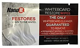 Nano It Whiteboard Restore Wipes, 20 Count