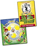 Dan Freedman Jamie Johnson and Eric Verschueren 2 Books Collection Pack Set RRP: £12.98 (Skills from Brazil, Football Fan 2014 Football World Cup Activity,Games, Stickers, Scorecard, Facts Book)