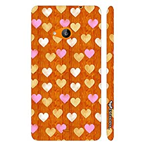 Nokia Lumia 535 Little Hearts designer mobile hard shell case by Enthopia