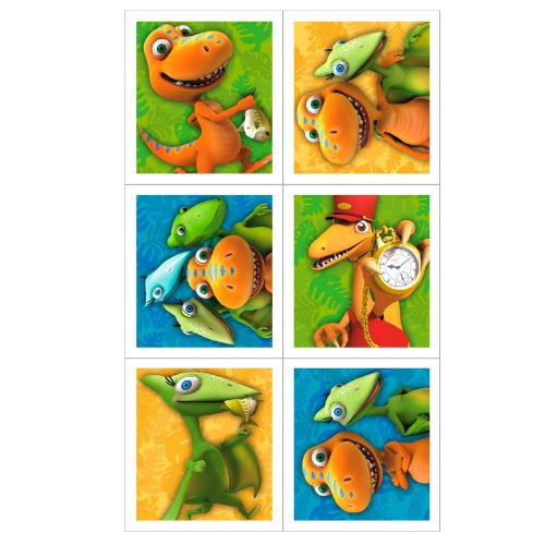 Dinosaur Train - Sticker Sheets (4) Party Accessory