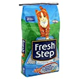 Fresh Step Clay Cat Litter, with Odor Eliminating Carbon, 14 Lb.