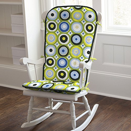 Lots Of Dots Rocking Chair Pad front-361245