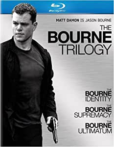 The Bourne Trilogy (The Bourne Identity / The Bourne Supremacy / The Bourne Ultimatum) [Blu-ray] (Sous-titres français)