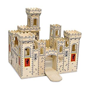 Melissa & Doug - Folding Medieval Castle