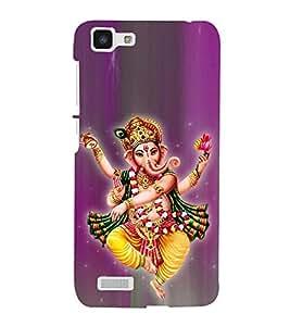 Tandava Ganesha 3D Hard Polycarbonate Designer Back Case Cover for VIVO Y27L :: Y 27L