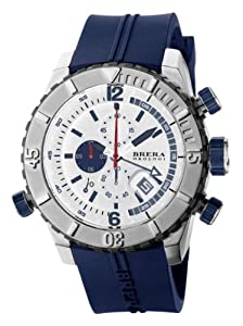 Amazon.com: Brera Orologi - Sottomarino Diver - White/Blue: Watches