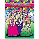 Picture Me A Princess Activity Book [Set of 2]