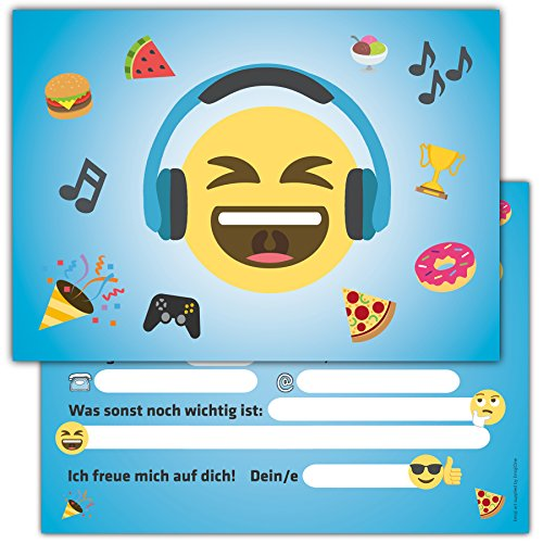 12-lustige-smiley-einladungskarten-zum-kindergeburtstag-emoji-geburtstagseinladungen-einladungen-geb