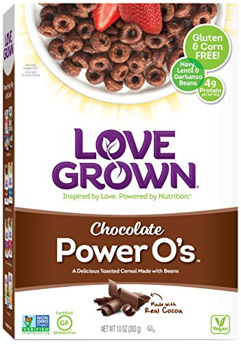 Love Grown Power O's Cereal, Chocolate, 10 Ounce (Power Rice compare prices)