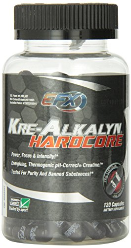 All American EFX, Kre-Alkalyn Hardcore 120 Capsules