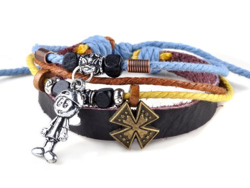 Suffer Handmade Ethnic Leather Bracelet Jewelry