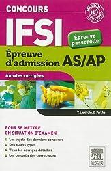Concours IFSI Annales corrigées Épreuve passerelle