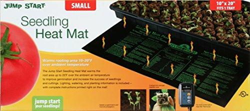 Hydrofarm MT10006 9-by-19-1/2-Inch Seedling Heat Mat picture