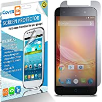 ZTE Blade D6 Screen Protector, 3 Pack of CoverON® [VisiGuard Series] Protective HD Film - Clear Screen Protector...
