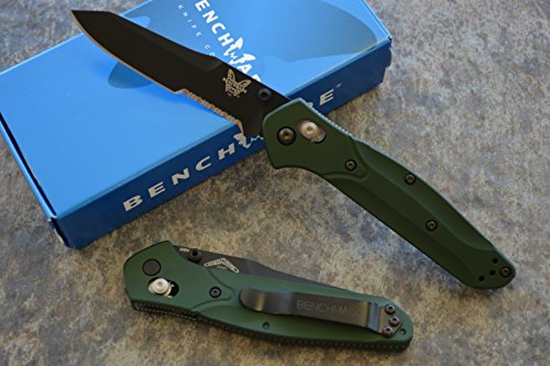 Benchmade 940SBK Osborne AXIS lock Knife with FREE Benchmade Bottle Opener