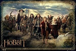 GB eye 61 x 91.5 cm the Hobbit Cast Maxi Poster