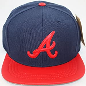 Atlanta Braves American Needle Limited Edition Caramel Apple Faux Leather Visor,... by American Needle