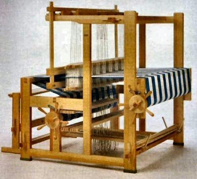types of looms warp or weft