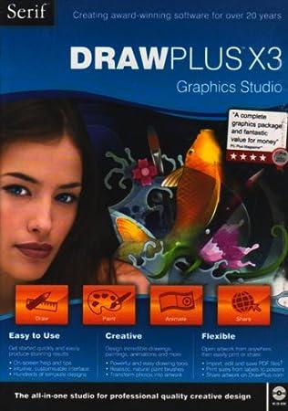 DrawPlus X3 Graphics Studio (PC CD)