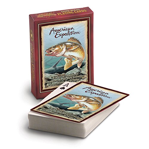 American Expedition Playing Cards - Walleye