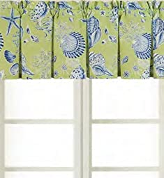 15.5x72 Valance, Green Shell by C&F