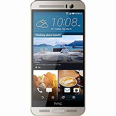 HTC One M9+ - Gold On Silver