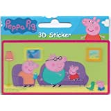 Peppa Pig - Mini 3D Lenticular Sticker - Sticker Styleby Sticker Style