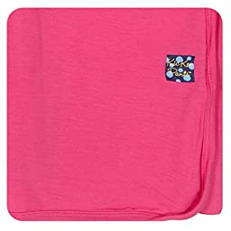 KicKee Pants Swaddling Blanket Winter Rose