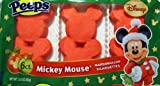 Disney Mickey Mouse Marshmallow Silhouettes Peeps...6 ct. [Hot Sale]
