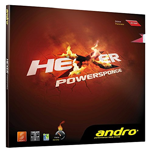 andro Belag Hexer Powersponge