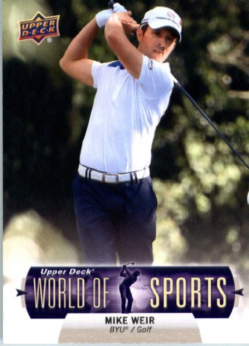 Sale alerts for  2011 Upper Deck World of Sports Card (ShortPrint) #352 Mike Weir BYU Cougars - Sports Card (ShortPrint)s - Covvet